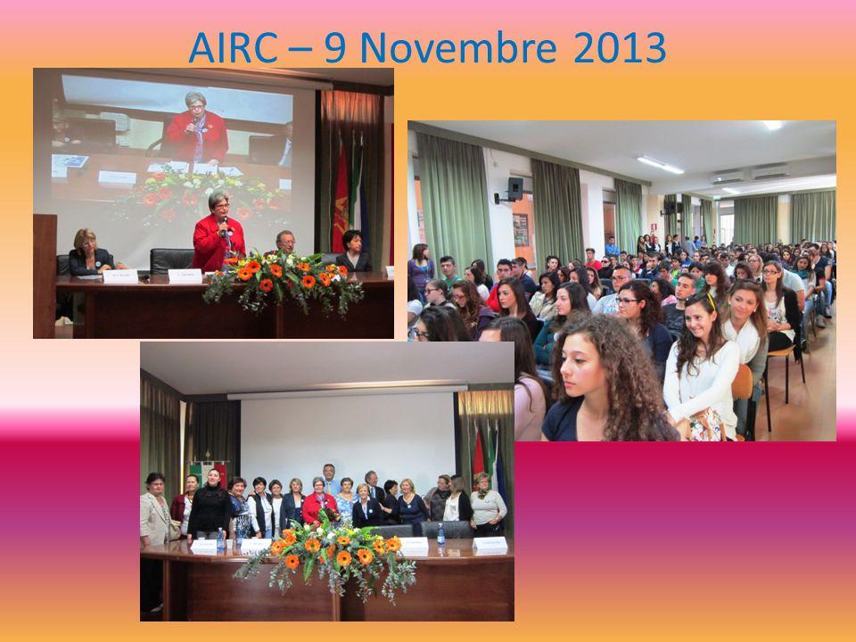 AIRC – 9 Novembre 2013