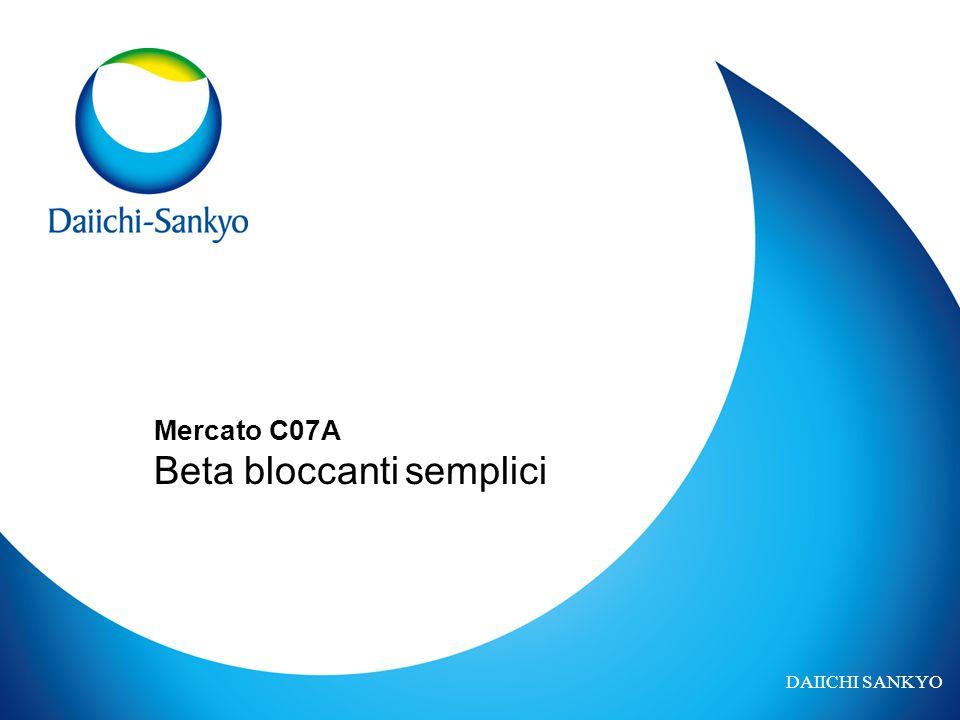 DAIICHI SANKYO Mercato C07A Beta bloccanti semplici