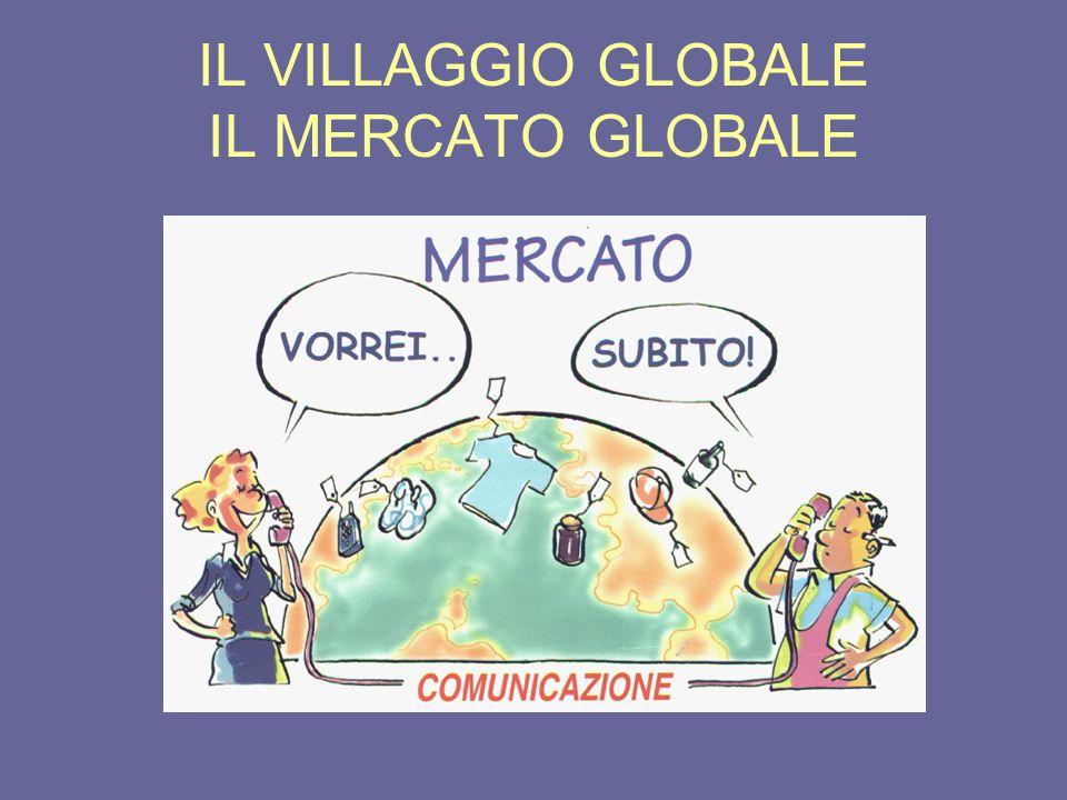 Problemi della globalizzazione Omologazione di consumi e stili di vita - il modello occidentale/americano è quello imperante - ovunque si trovano le stesse aziende (logo) - ovunque si trovano gli stessi centri commerciali
