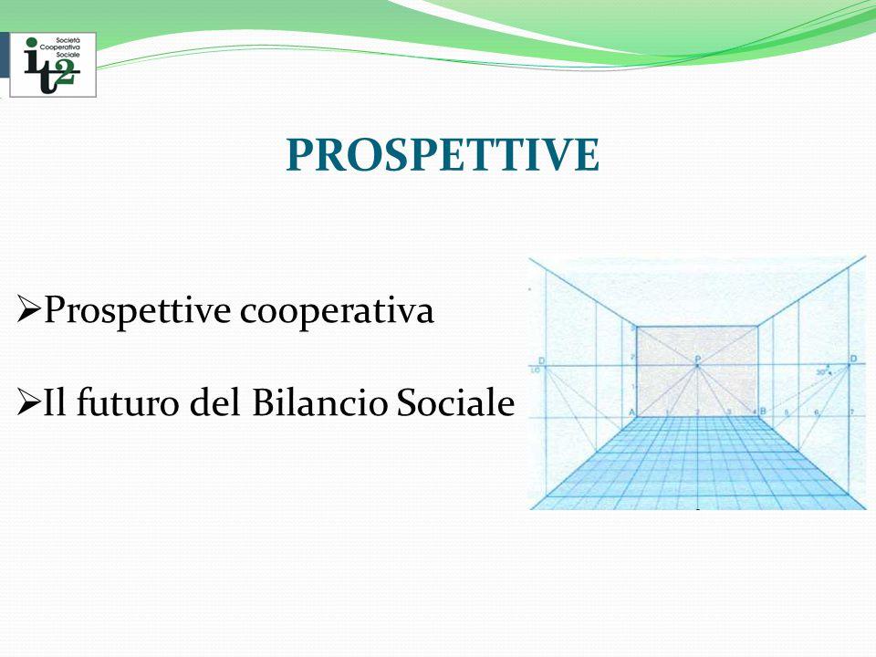 PROSPETTIVE  Prospettive cooperativa  Il futuro del Bilancio Sociale