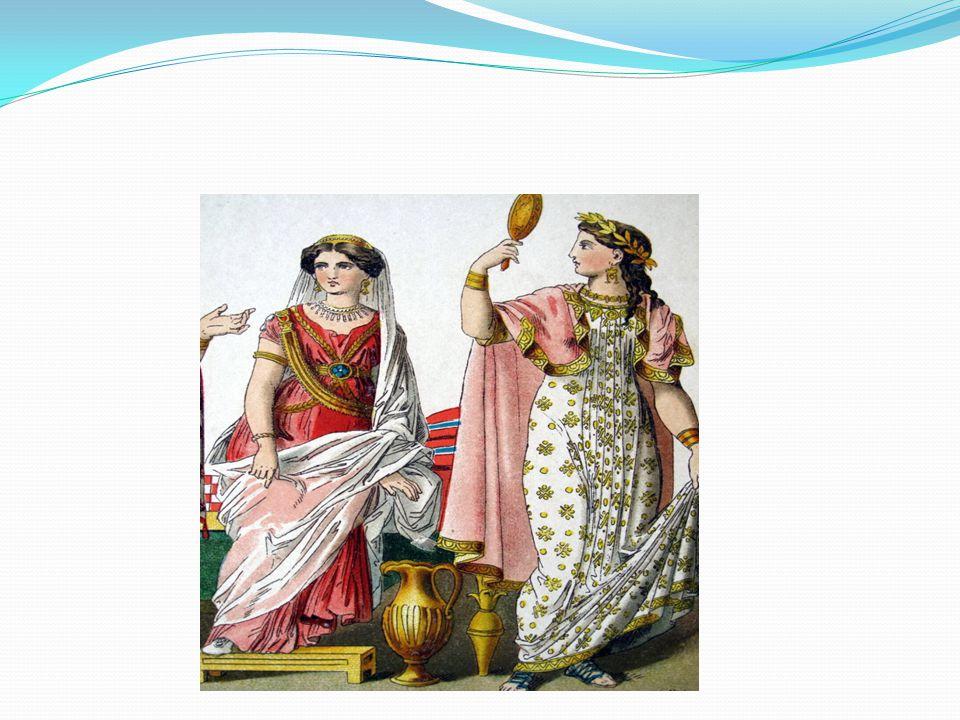 Uomini Il mantello, tebenno, era l'elemento più importante, tanto che lo si portava anche da solo,quale unico indumento.