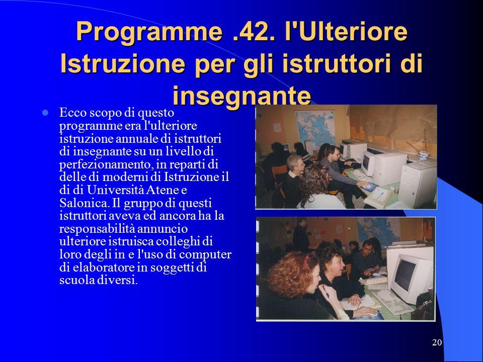 20 Programme.42.