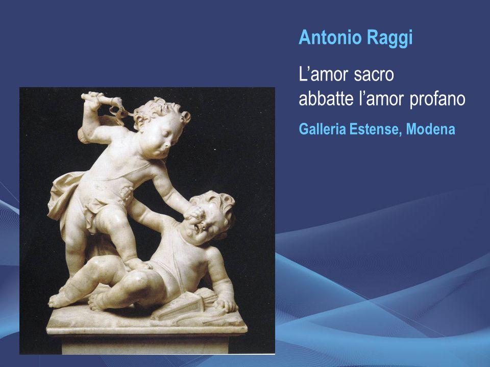 Antonio Raggi L'amor sacro abbatte l'amor profano Galleria Estense, Modena