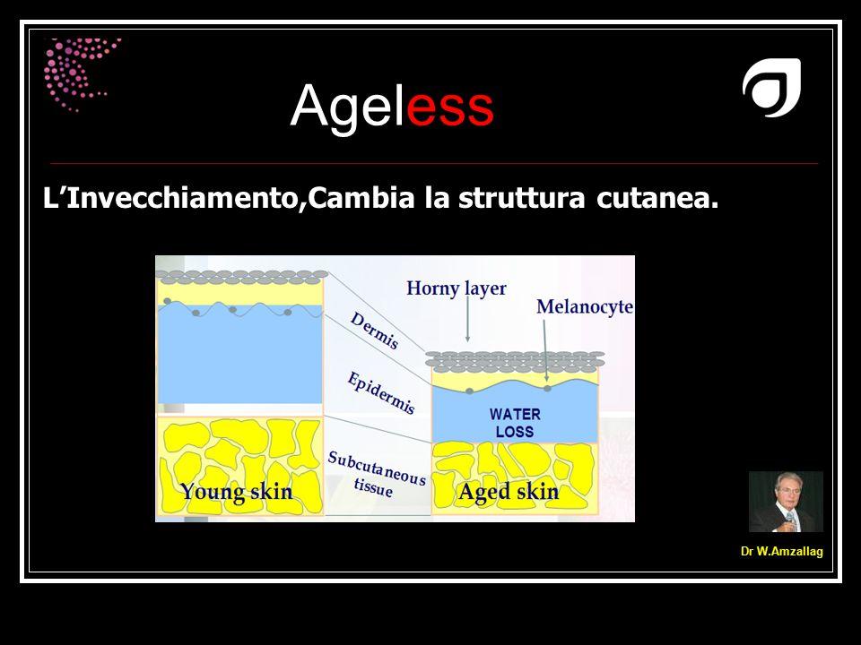 Ageless Dr W.Amzallag L'Invecchiamento,Cambia la struttura cutanea.
