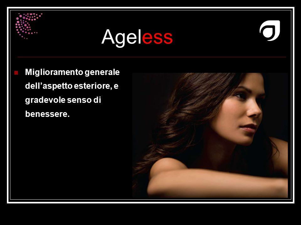 Ageless Dr W.Amzallag Miglioramento generale dell'aspetto esteriore, e gradevole senso di benessere.