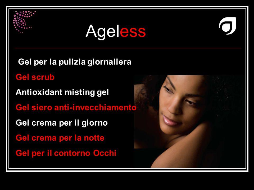Ageless Dr W.Amzallag Gel per la pulizia giornaliera Gel scrub Antioxidant misting gel Gel siero anti-invecchiamento Gel crema per il giorno Gel crema