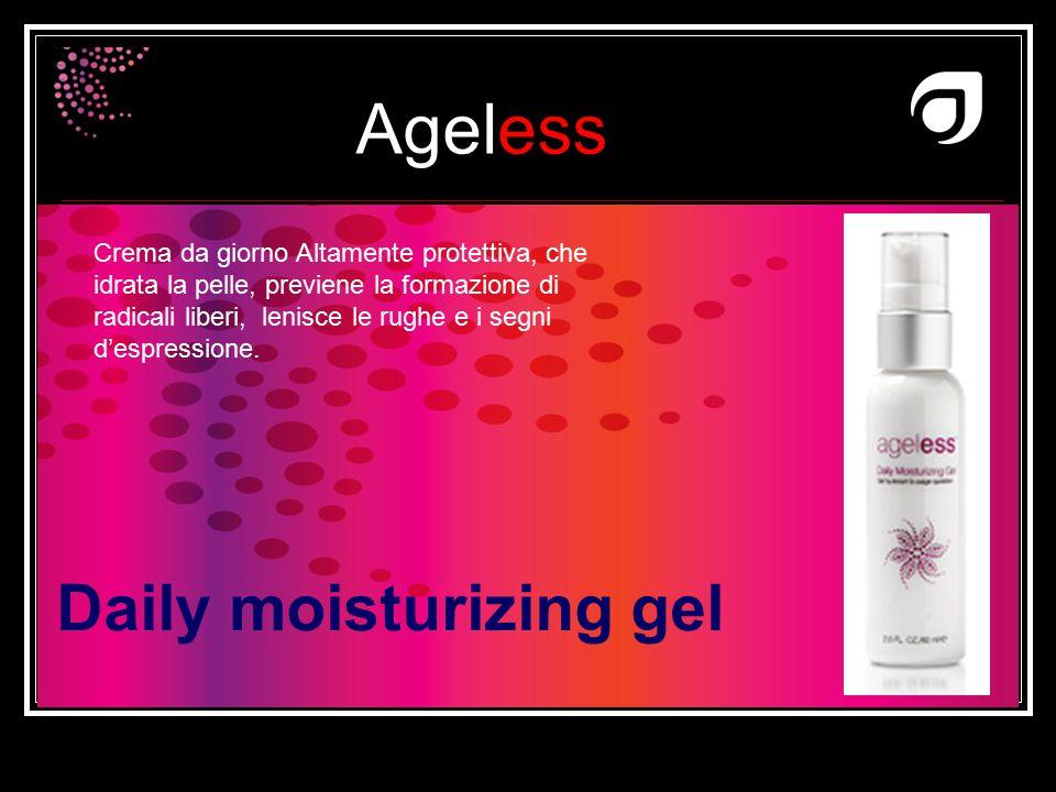 Ageless Dr W.Amzallag Daily moisturizing gel Crema da giorno Altamente protettiva, che idrata la pelle, previene la formazione di radicali liberi, len
