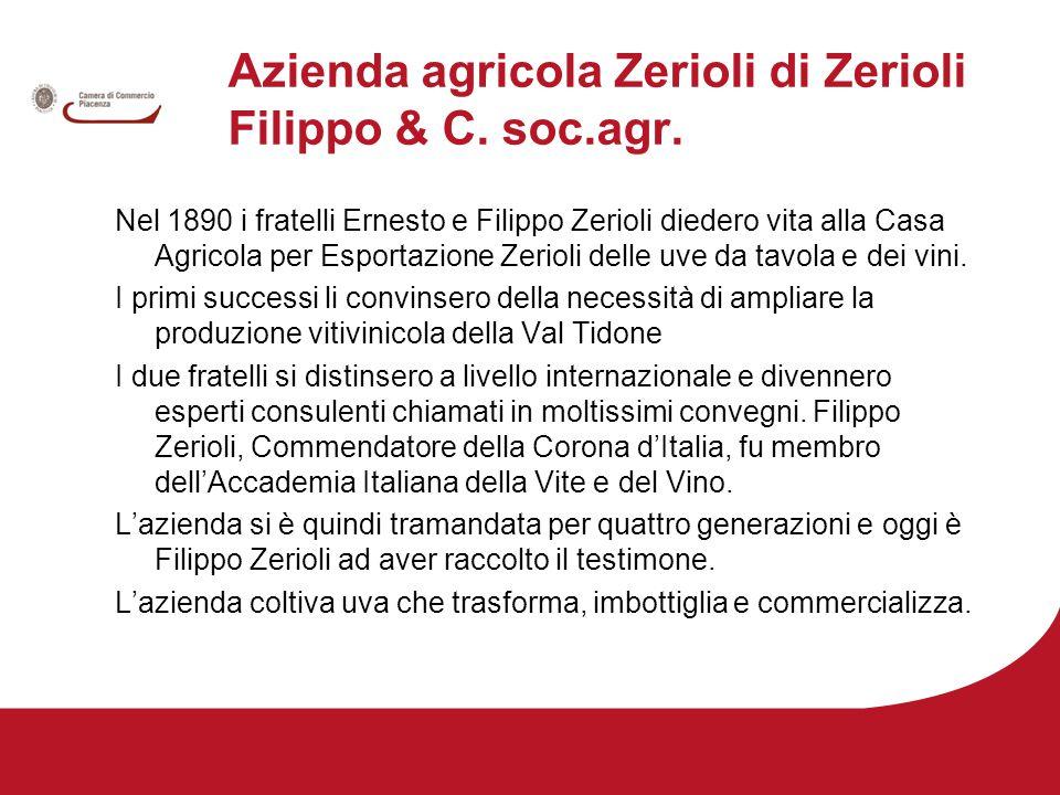 Azienda agricola Zerioli di Zerioli Filippo & C. soc.agr.