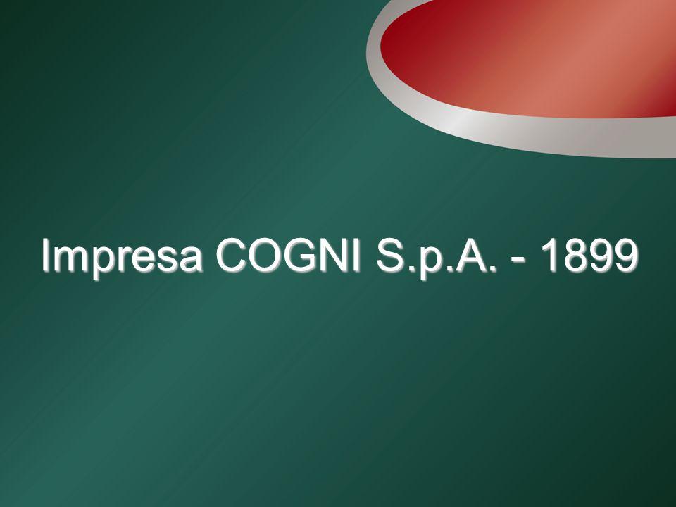 Impresa COGNI S.p.A. - 1899