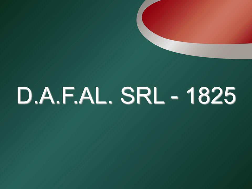 D.A.F.AL. SRL - 1825