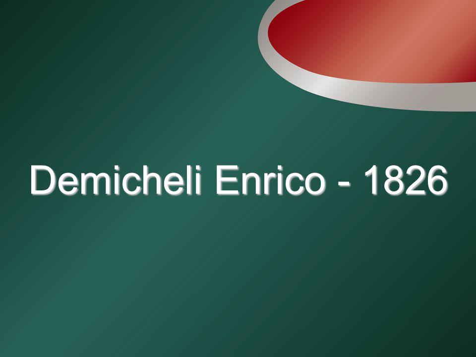 Demicheli Enrico - 1826