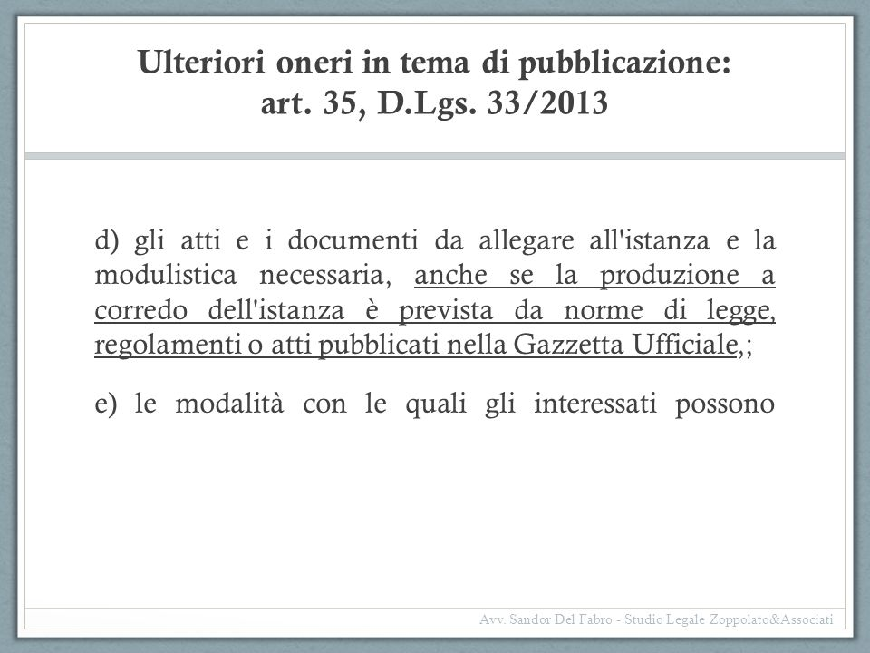 Incompatibilità diffusa (segue) D.Lgs.39/2013: attua l'art.