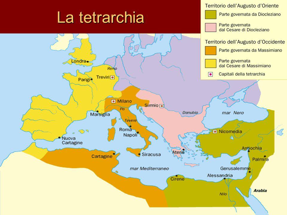La tetrarchia