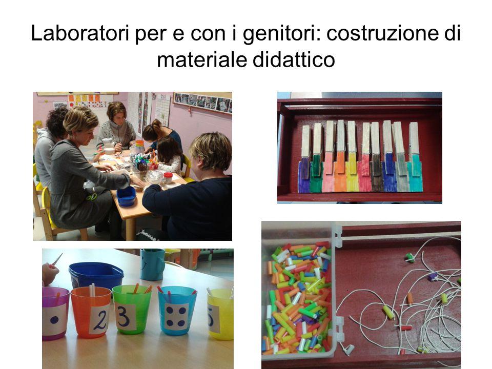 Laboratori per e con i genitori: costruzione di materiale didattico