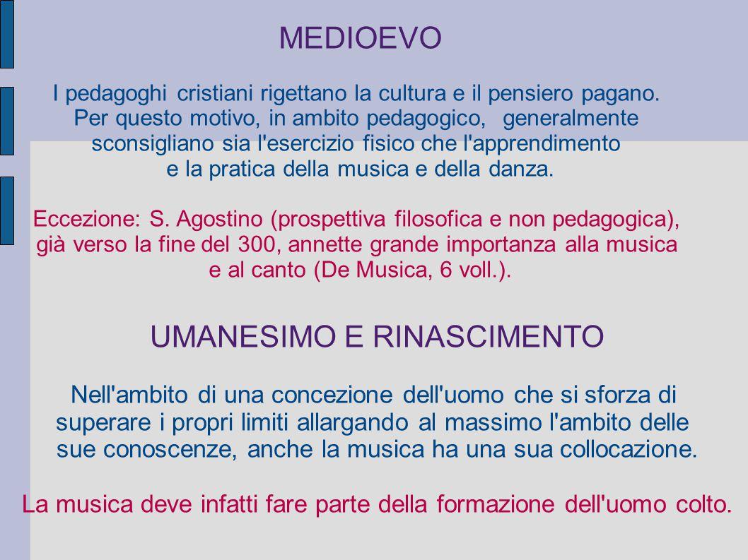 SEICENTO Nascita della metodologia Fénelon (1651-1715) : Non propone uno specifico discorso pedagogico musicale, ma inserisce la musica tra le discipline che devono concorrere all educazione delle fanciulle.