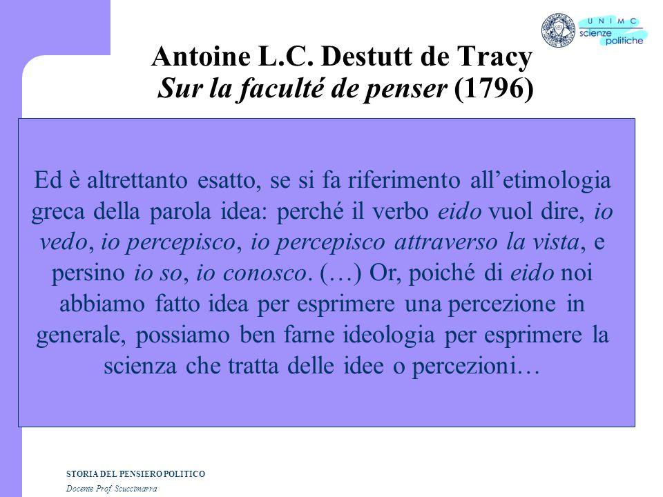STORIA DEL PENSIERO POLITICO Docente Prof.Scuccimarra Walter Benjamin, Sul concetto di storia 8.