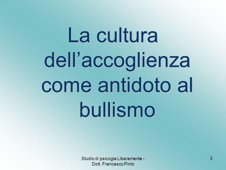 3 La cultura dell'accoglienza come antidoto al bullismo