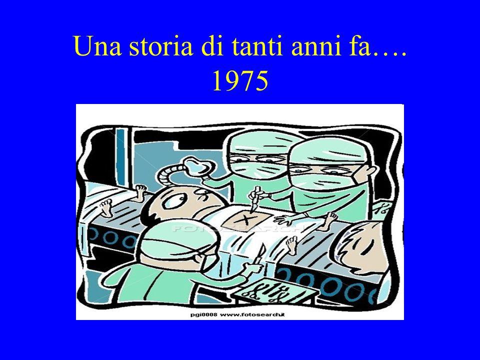 Una storia di tanti anni fa…. 1975