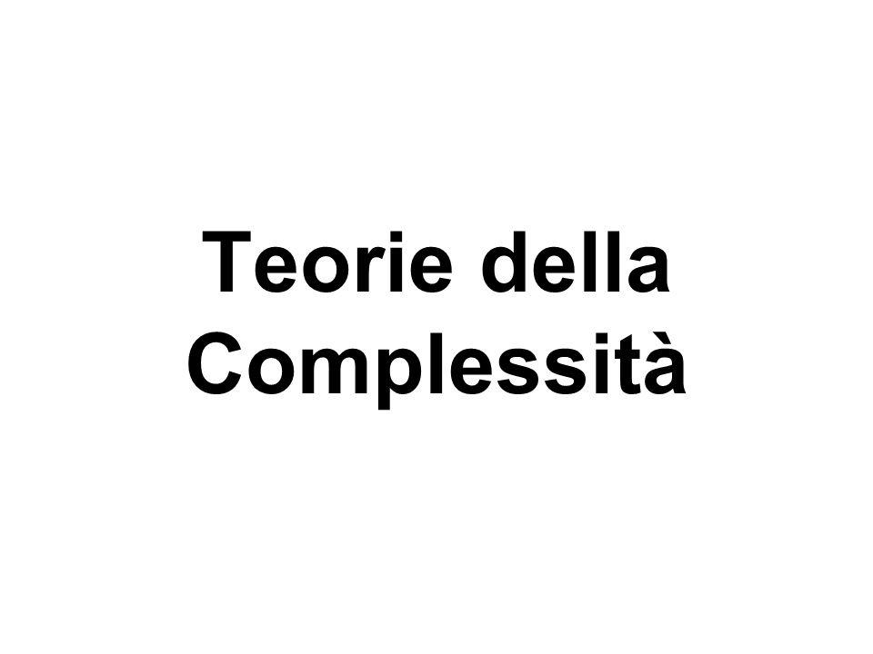 Teorie della Complessità