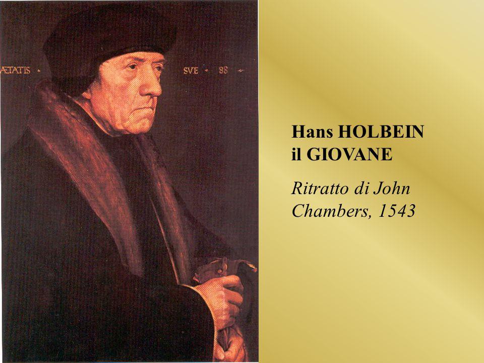 Hans HOLBEIN il GIOVANE Ritratto di John Chambers, 1543