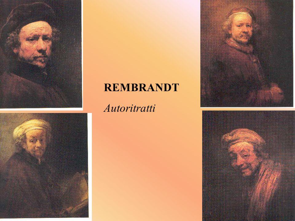 REMBRANDT Autoritratti