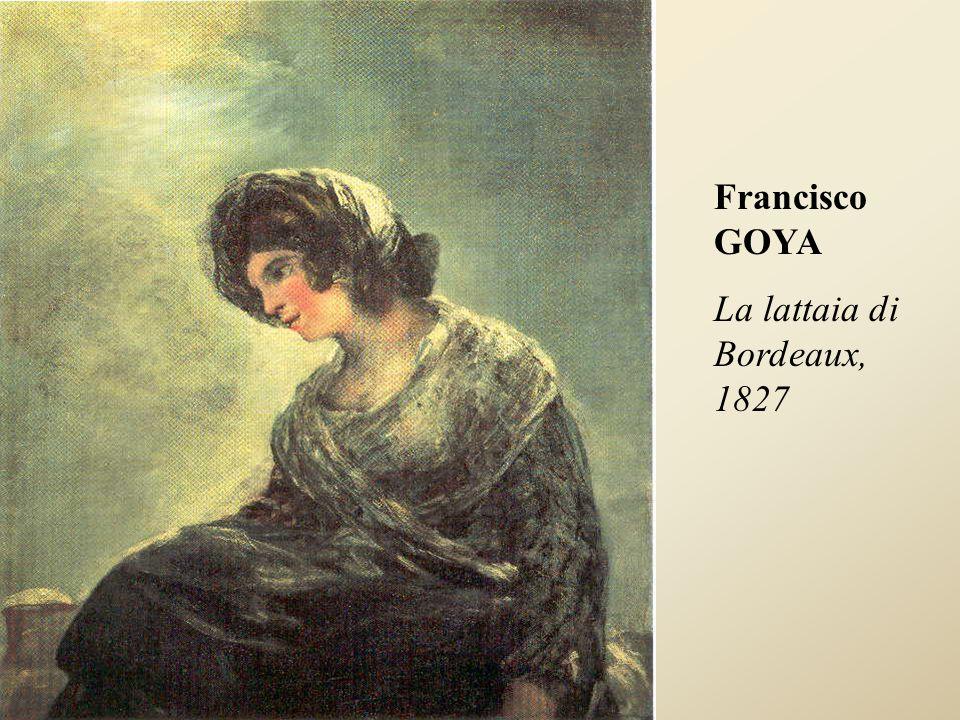 Francisco GOYA La lattaia di Bordeaux, 1827