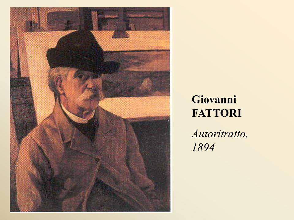 Giovanni FATTORI Autoritratto, 1894