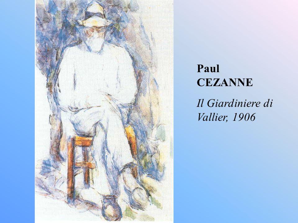 Paul CEZANNE Il Giardiniere di Vallier, 1906
