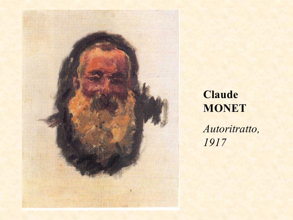 Claude MONET Autoritratto, 1917