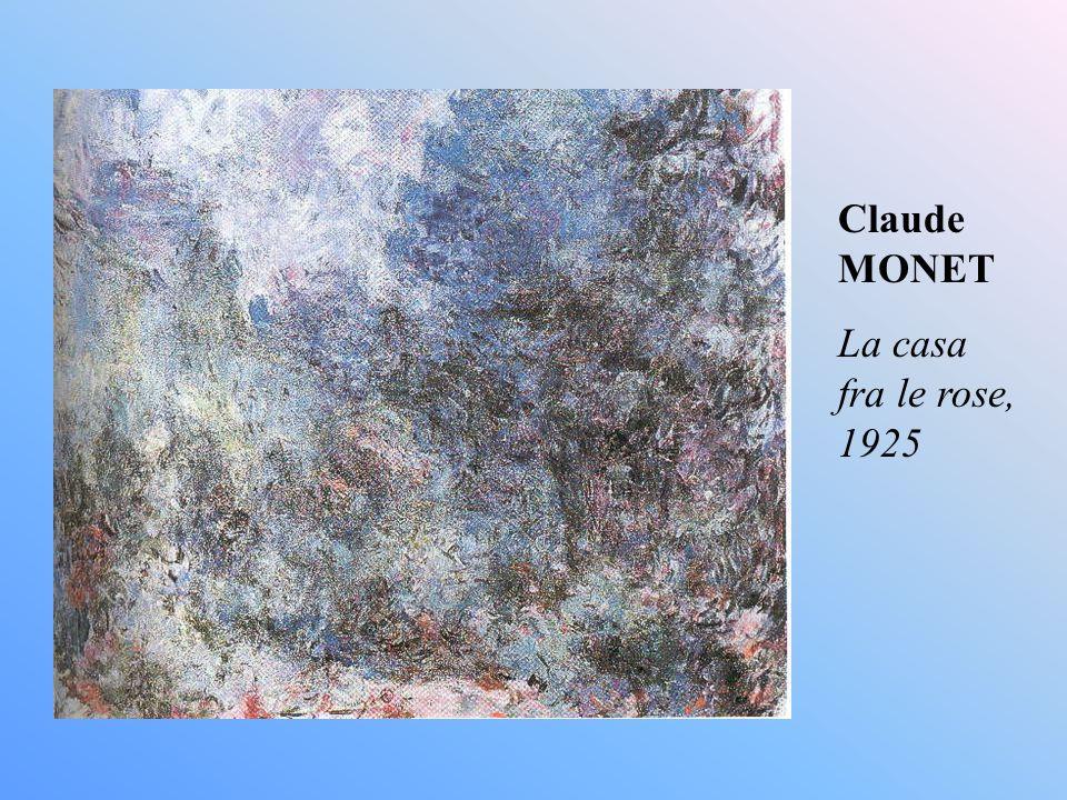 Claude MONET La casa fra le rose, 1925