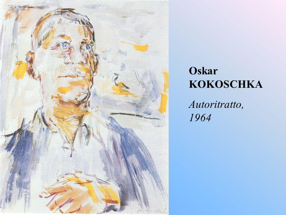 Oskar KOKOSCHKA Autoritratto, 1964