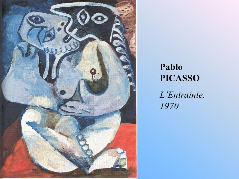 Pablo PICASSO L'Entrainte, 1970