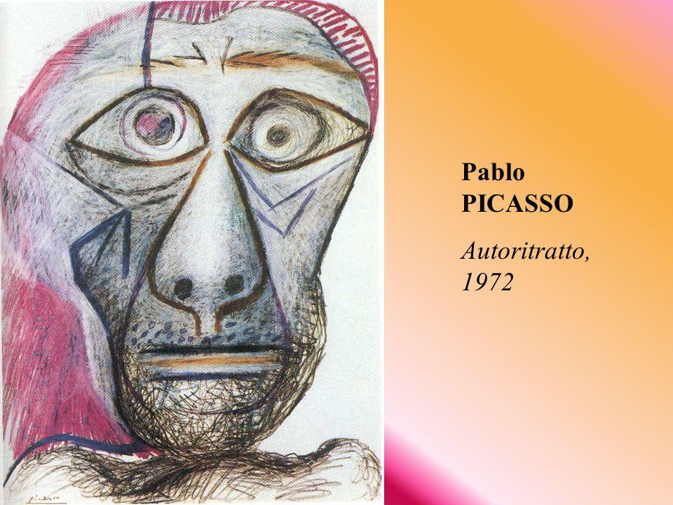 Pablo PICASSO Autoritratto, 1972