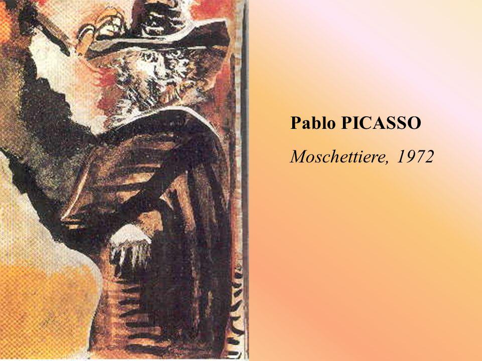 Pablo PICASSO Moschettiere, 1972