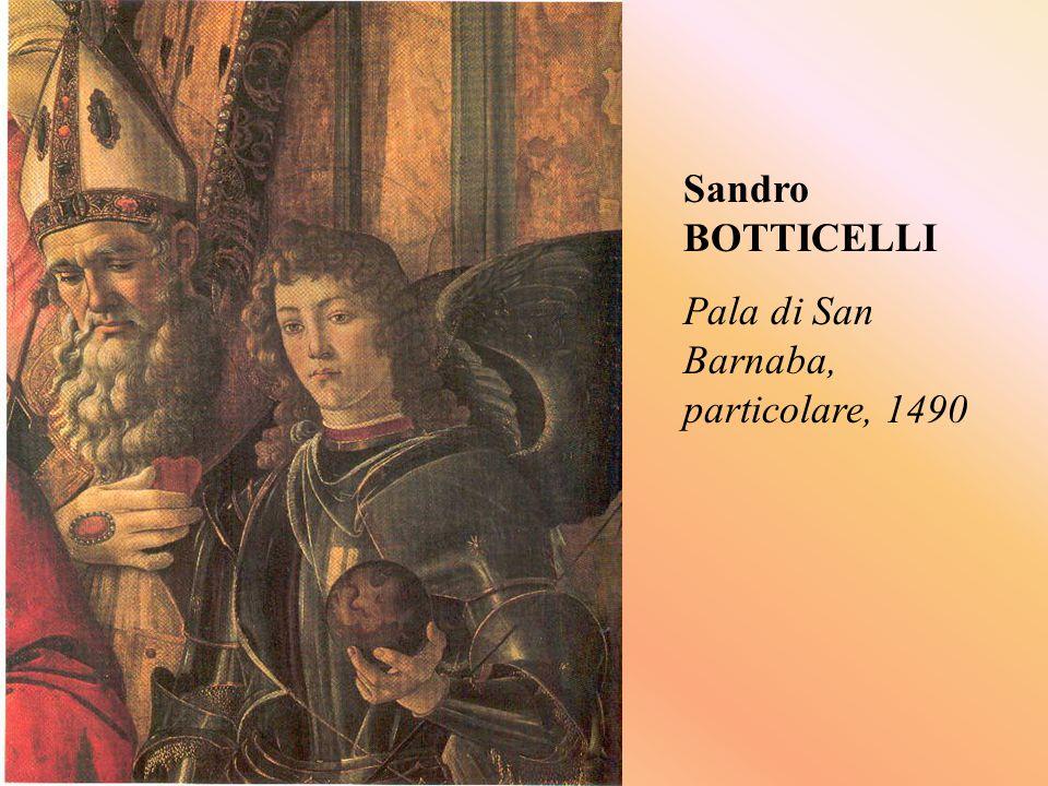 Sandro BOTTICELLI Pala di San Barnaba, particolare, 1490