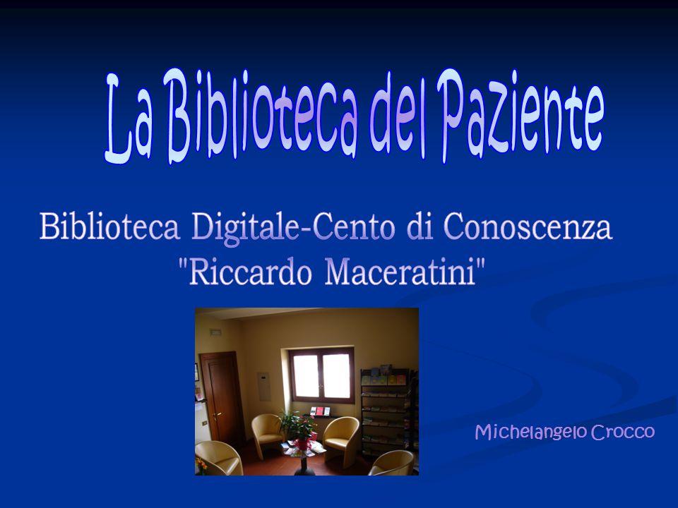 Il 16 giugno 2005 viene inaugurata la Biblioteca Digitale-Centro di Conoscenza R.