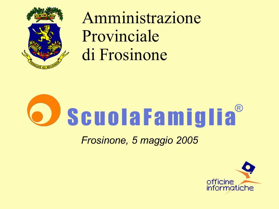 Frosinone, 5 maggio 2005 Amministrazione Provinciale di Frosinone