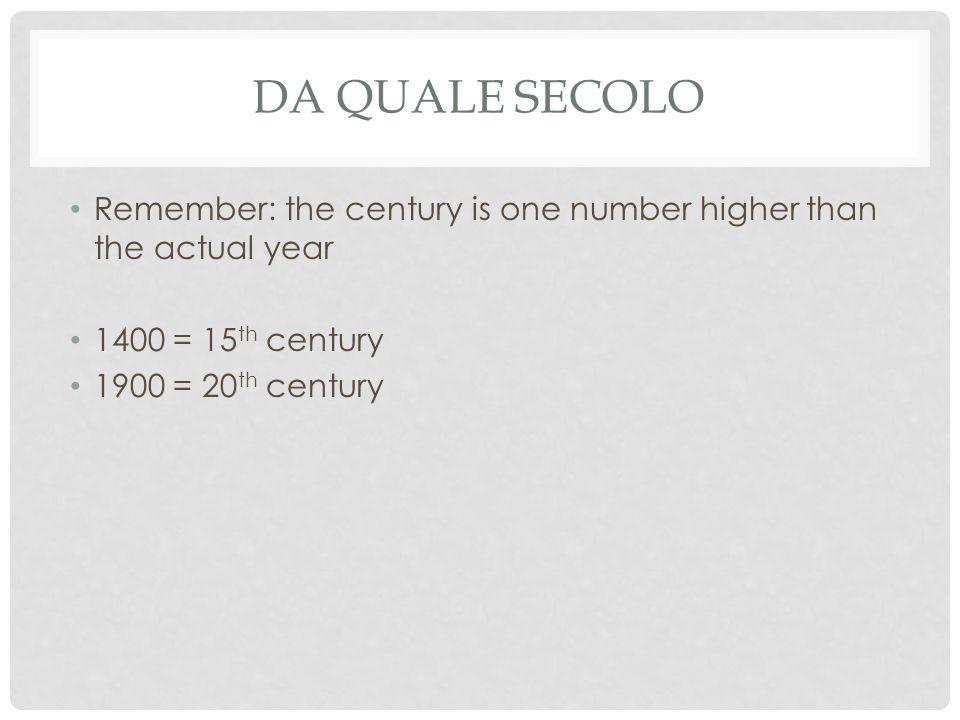 DA QUALE SECOLO? Maestà – (Duccio – 1308)