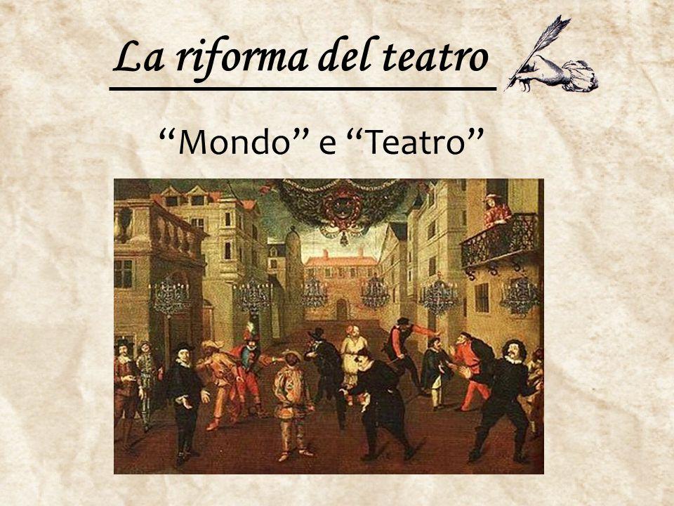 "La riforma del teatro ""Mondo"" e ""Teatro"""