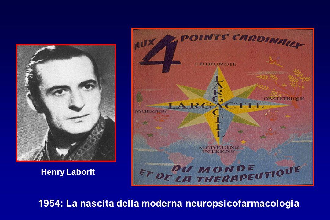 Henry Laborit 1954: La nascita della moderna neuropsicofarmacologia