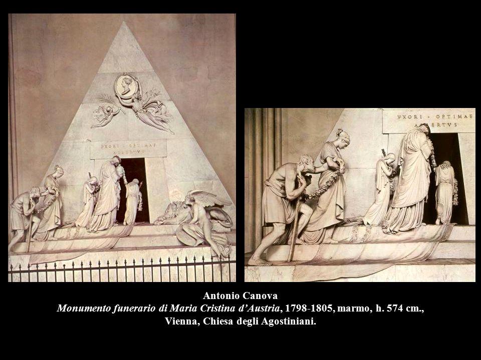 Antonio Canova Monumento funerario di Maria Cristina d'Austria, 1798-1805, marmo, h. 574 cm., Vienna, Chiesa degli Agostiniani.