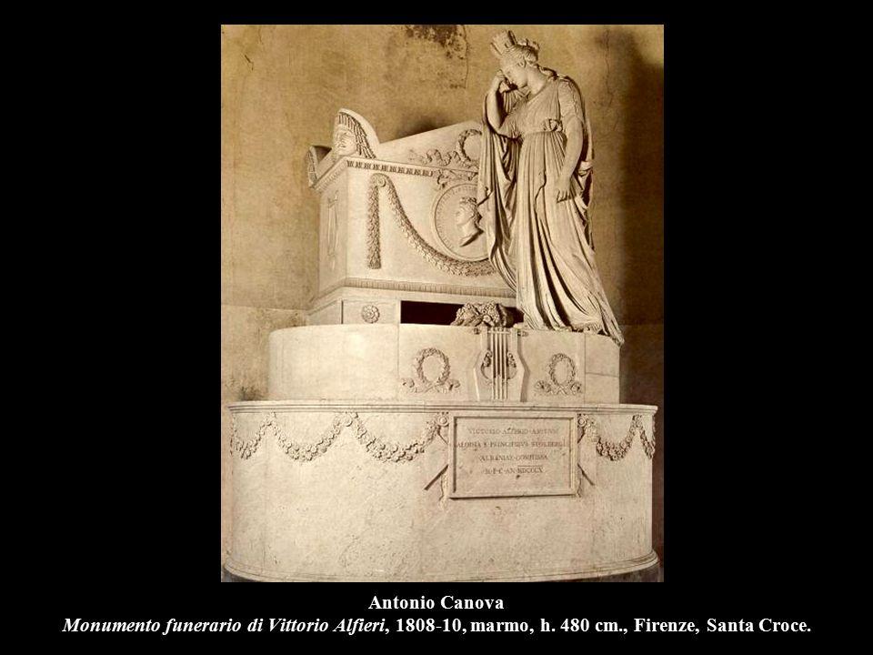 Antonio Canova Monumento funerario di Vittorio Alfieri, 1808-10, marmo, h. 480 cm., Firenze, Santa Croce.