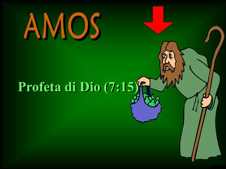 E' un pastore Un coltivatore di sicomori (7:14)