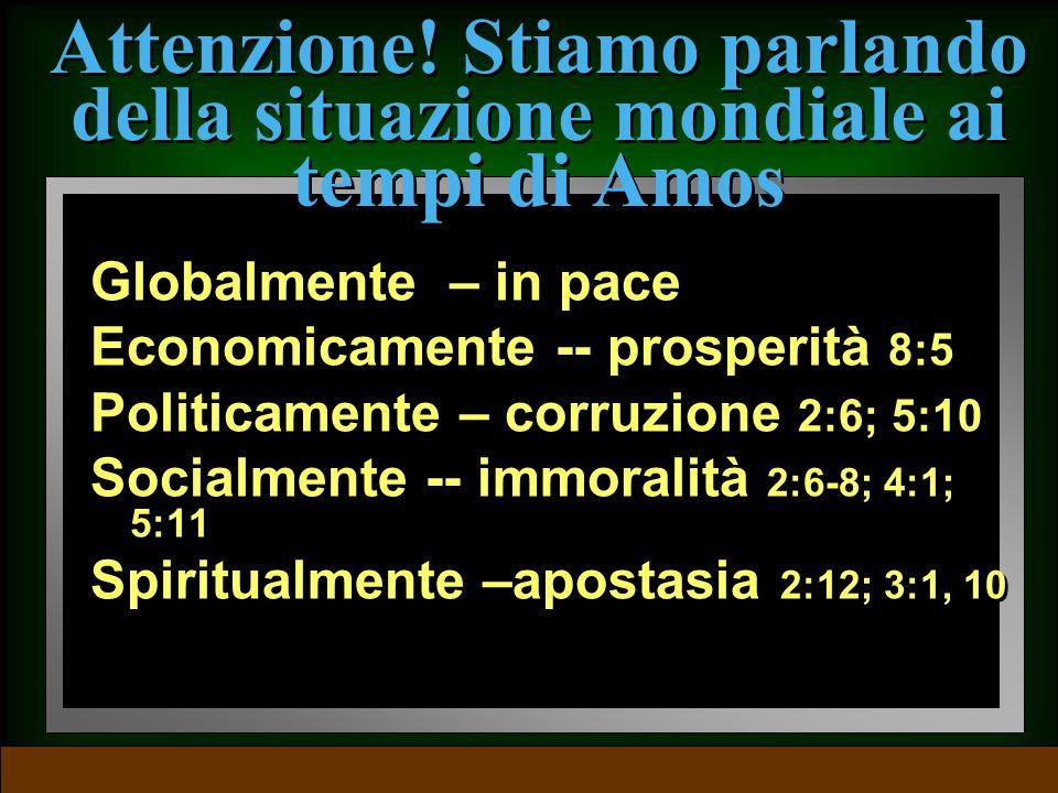 Introduzione: lo scenario Spirituale --apostasia