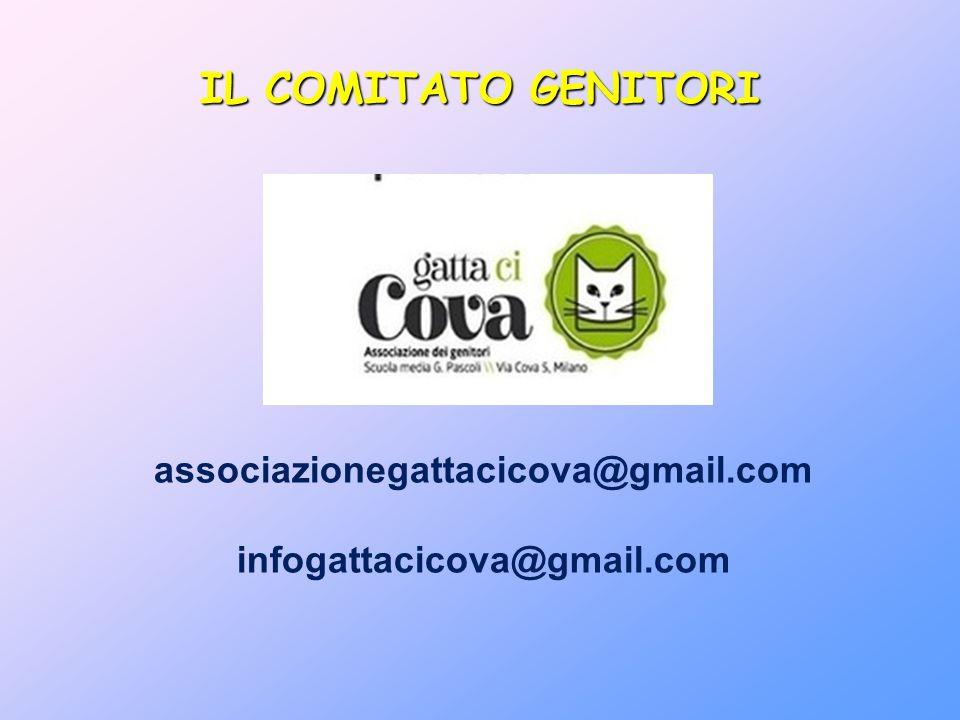 associazionegattacicova@gmail.com infogattacicova@gmail.com IL COMITATO GENITORI