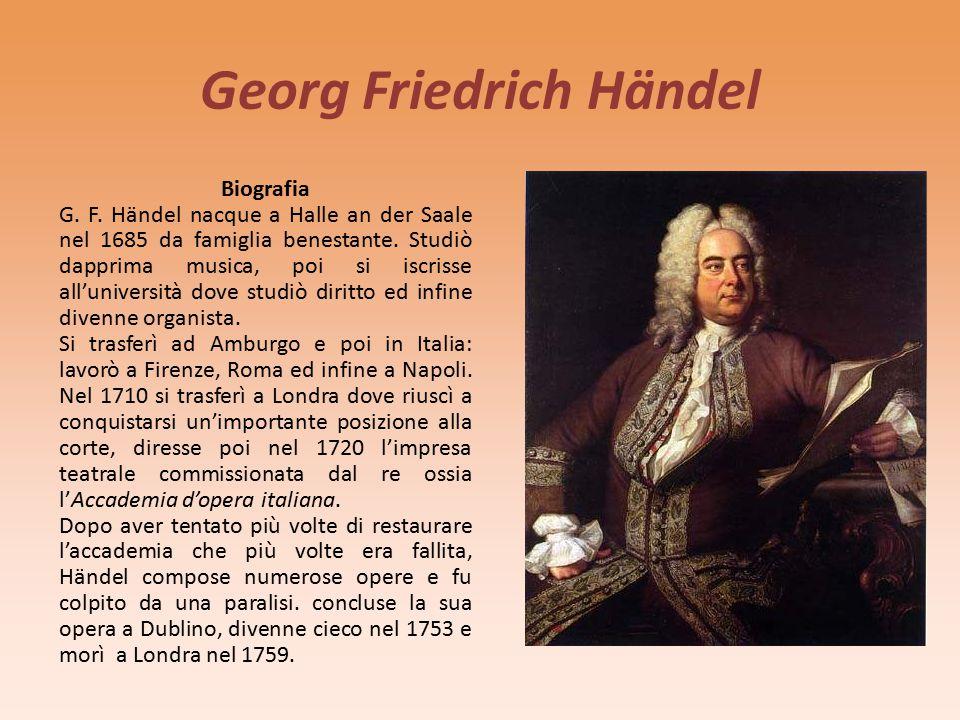 Antonio Vivaldi Composizione: prima del 1725 (data in cui fu pubblicata) La Primavera