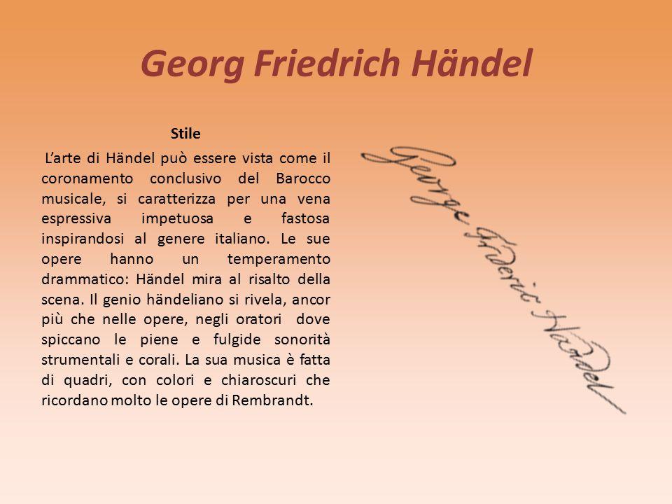 Georg Friedrich Händel Biografia G.F.