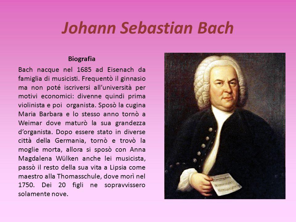 Georg Friedrich Händel Questo coro è tratto dall'oratorio Messiah e risale al 1742. Hallelujah Come brano di musica profana si riporta parte dell'ouve