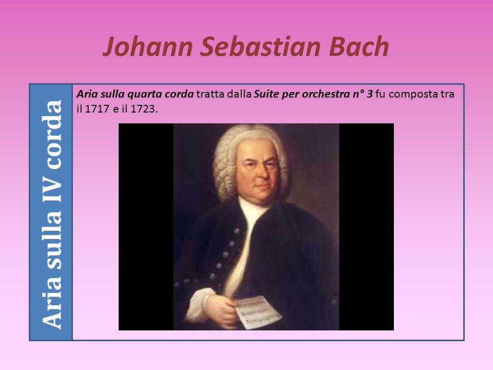 Johann Sebastian Bach Opere Tra le opere di Bach ricordiamo La passione secondo Matteo, numerosissimi oratori, sonate, suites, arrangiamenti, preludi,