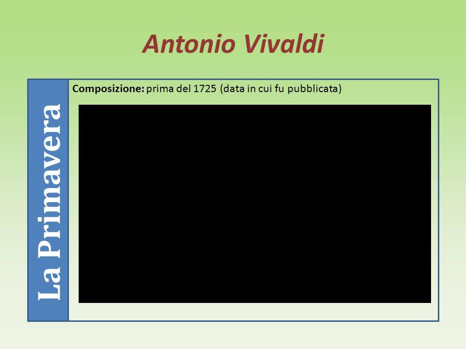 Antonio Vivaldi Opere Vivaldi compose circa 330 concerti solistici, 45 per due strumenti solisti e orchestra, 34 di gruppo, 44 per orchestra d'archi,